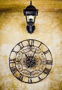 Pointers Posters - Old Vintage Clock Face  Poster by Chavalit Kamolthamanon