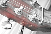 Kingston Prints - Old Vintage Guitar Print by Roxanne Colvin