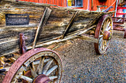 Old Wagon Photos - Old Wagon by Jon Berghoff
