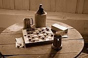 Chess Photos - Old Way of Life Series - Past Time by Joe  Ng