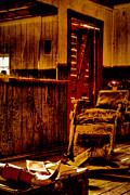 Old West Photos - Old West Barber Shop at Bonnie Springs Ranch by David Patterson