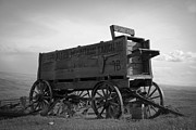 Horse And Buggy Prints - Old West Wagon Print by Steve McKinzie