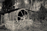 Scenic - Landscape - Old West Water Mill 3 by Darcy Michaelchuk