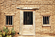 Stock Images Prints - Old Western Jailhouse Print by James Bo Insogna