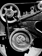 Old Cabooses Photos - Old Western Pacific Caboose Train Wheel . 7D10626 . Black and White by Wingsdomain Art and Photography