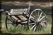 Old West Photos - Old Wheels by Kelley King
