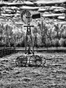 Old Windmill 2 Print by Dennis Sullivan