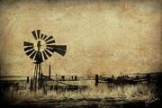 Infrared Posters - Old Windmill Poster by Christine Hauber
