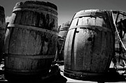 Reynolds Prints - Old Wine Barrels Print by Jeff Wilson