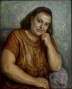 Dionisii Donchev - Old woman smiling