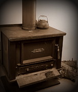 Countryside Art - Old Wood Stove   2 by Tanya  Searcy