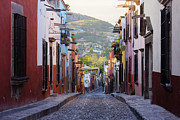 San Miguel Photos - Old World Street by Jeremy Woodhouse