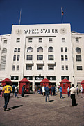 Ballparks Posters - Old Yankee Stadium Last Game Poster by Paul Plaine