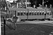 Trolley Art - Old Ybor City trolley by David Lee Thompson