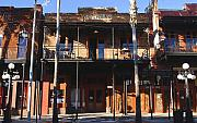 Brick Buildings Metal Prints - Old Ybor Metal Print by David Lee Thompson