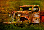 Truck Mixed Media Posters - Olde But Not Forgotten Poster by Deborah Benoit