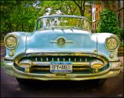 Fifties Automobile Photos - Oldsmobile by Chris Lord