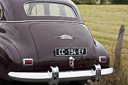 Fifties Automobile Photos - Oldsmobile Rear View by Georgia Fowler