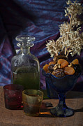 Mideast Framed Prints - Olive oil and dried fruit  Framed Print by Ilan Amihai