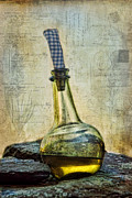 Olive Oil Photo Framed Prints - Olive Oil Framed Print by Robin-lee Vieira