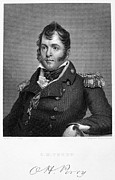 Captain America Framed Prints - Oliver Hazard Perry Framed Print by Granger