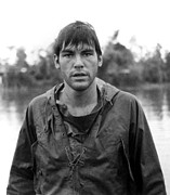 1960s Candids Metal Prints - Oliver Stone In Vietnam, Having Arrived Metal Print by Everett