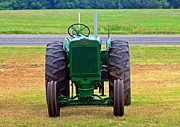 Oliver Tractor Framed Prints - Oliver Tractor Framed Print by Monica Wheelus