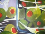 Olives Originals - Olives by Demetria Kelley