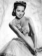 Tulle Prints - Olivia De Havilland, 1946 Print by Everett