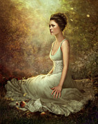 Woodland Scenes Digital Art Posters - Olivia  Poster by Doris Mantair