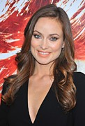 2010s Makeup Framed Prints - Olivia Wilde At Arrivals For The Next Framed Print by Everett