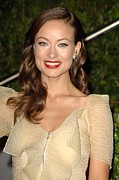 Award Framed Prints - Olivia Wilde At Arrivals For Vanity Framed Print by Everett