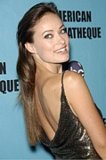 Beverly Hilton Hotel Posters - Olivia Wilde In Attendance For 24th Poster by Everett