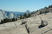 Winter Scenes Rural Scenes Framed Prints - Olmsted Point view of Half Dome Framed Print by LeeAnn McLaneGoetz McLaneGoetzStudioLLCcom
