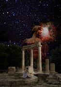 Olympia's Temple Print by Pavlos Vlachos