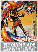 1920 Framed Prints - Olympic Games, 1920 Framed Print by Granger
