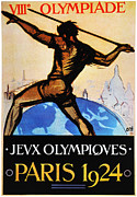 Throw Prints - Olympic Games, 1924 Print by Granger