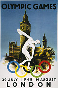 Discus Photo Prints - Olympic Games, 1948 Print by Granger