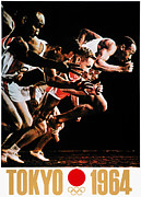 Footrace Photo Prints - Olympic Games, 1964 Print by Granger