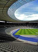 Olympic Stadium - Berlin Print by Juergen Weiss