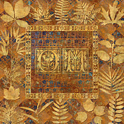Susan Ragsdale - OM Brass with Leaves