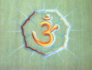 Special Occasion Paintings - Om by Shasta Eone