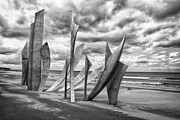 Omaha Photos - Omaha Beach by Jason Wolters