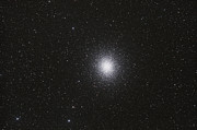 Star Clusters Posters - Omega Centauri Globular Star Cluster Poster by Philip Hart