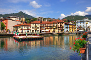 Northern Italy Photos - Omegna - Lago dOrta by Joana Kruse