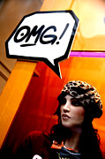 Omg Framed Prints - Omg Framed Print by Jez C Self