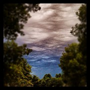 Clouds Art - Ominous Sky #instagram #clouds #sky by Adam Romanowicz
