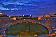 Doak Campbell Stadium Prints - Ominous Stadium Print by Alex Owen