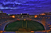 Doak Campbell Stadium Prints - Ominous Stadium v2 Print by Alex Owen