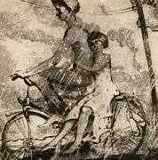 Aleksey Zuev - On a bicycle